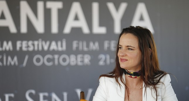 Masterclass meetings hosts Juliette Lewis in Antalya