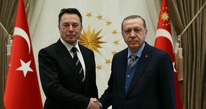 pPräsident Recep Tayyip Erdoğan kam am Mittwoch im Präsidentenpalast in Ankara mit Tesla-Chef Elon Musk zusammen./p  pDas unerwartete Treffen fand statt -kurz nachdem die Türkei angekündigt...