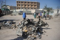 At least 4 dead, 7 injured in car bomb attack in Somalia's capital