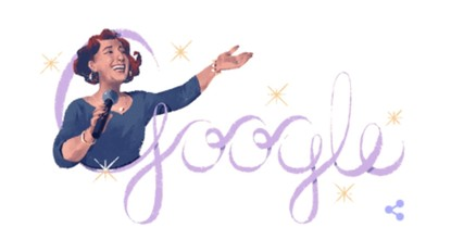 Google marks 100th birthday of 'Diva' Müzeyyen Senar