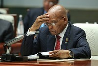 South African President Zuma refuses ANC party's order to step down, triggers crisis