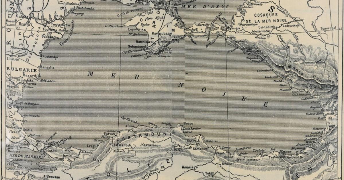 Hu00fcseyin Bahri Alptekin, the Black Sea map, 1999.