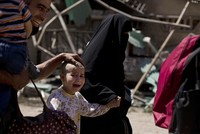 The Daesh terror group is targeting children in Mosul to prevent civilians from fleeing the city as Iraqi forces push into the last stronghold held in Iraq by the terrorists there, the United...