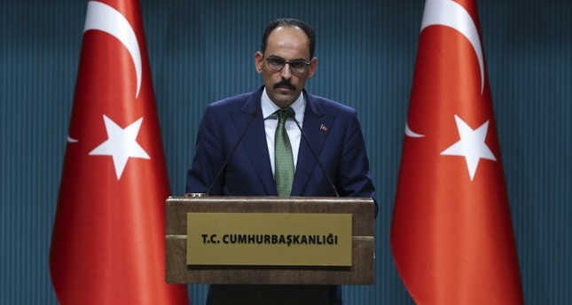 Sanction threats will not force Turkey to stop its op in Syria, Presidential Spox says
