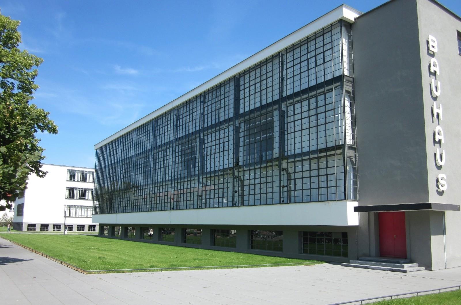 Bauhaus building in Dessau, Germany.