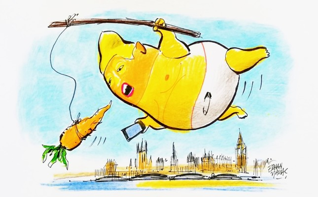 Trump in London: Is Britain simply a small America?
