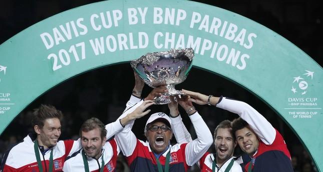 Noah ends 'losing culture' as France wins Davis Cup title