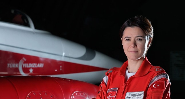 Turkish Air Force welcomes first female Wing Commander