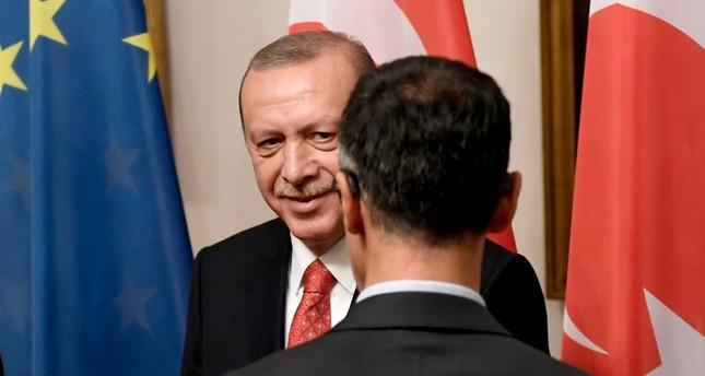 أردوغان يستقبل مديري كبرى الشركات والبنوك الألمانية