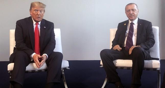 أردوغان يلتقي ترامب على هامش قمة الناتو