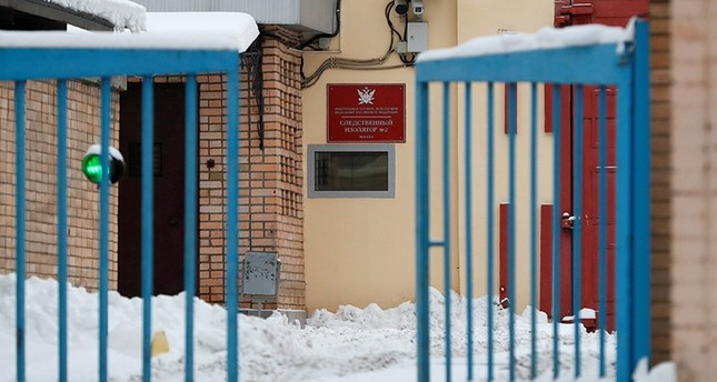 A view shows the pre-trial detention center Lefortovo, where former U.S. Marine Paul Whelan is reportedly held in custody in Moscow, Russia Jan. 3, 2019. (Reuters Photo)