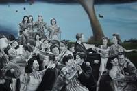 Joy establishes bridge between past and present in art show