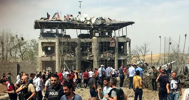 7 شهداء من الشرطة والمدنيين في تفجير لبي كا كا الإرهابي بديار بكر