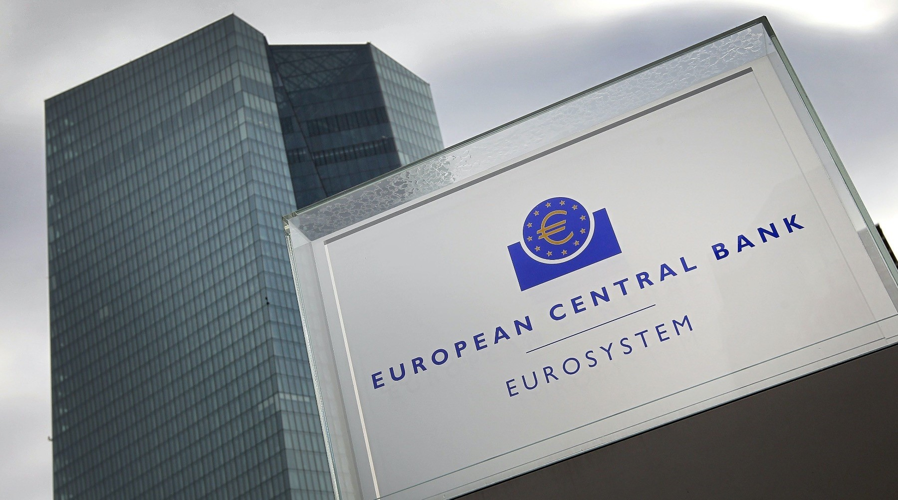 The headquarters of the European Central Bank in Frankfurt, Oct. 26, 2017.