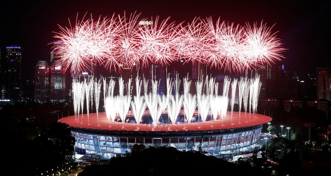 Asian Games begins with spectacular ceremony