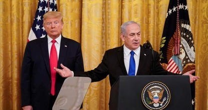 Trump's plan not about peace but bolstering Israeli-Gulf alliance