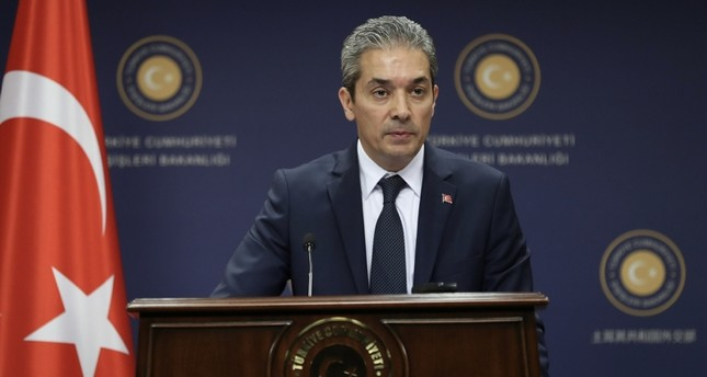 Turkey expects concrete steps from US on YPG: MFA