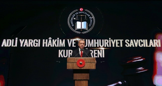 Erdoğan: No judicial institution should serve interests of any political party