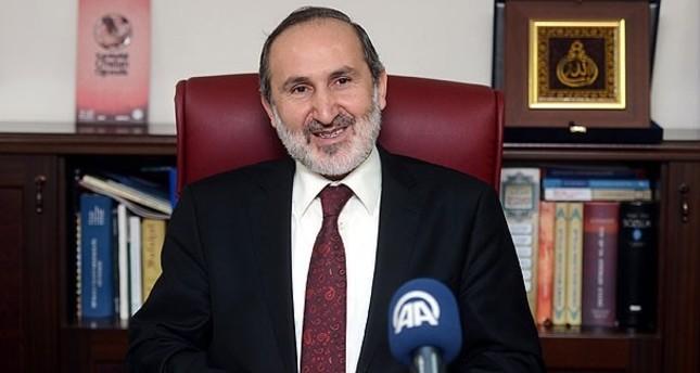 رئيس مجلس الشؤون الدينية التركي بالوكالة يؤكد استمرار تعاونه مع غزة