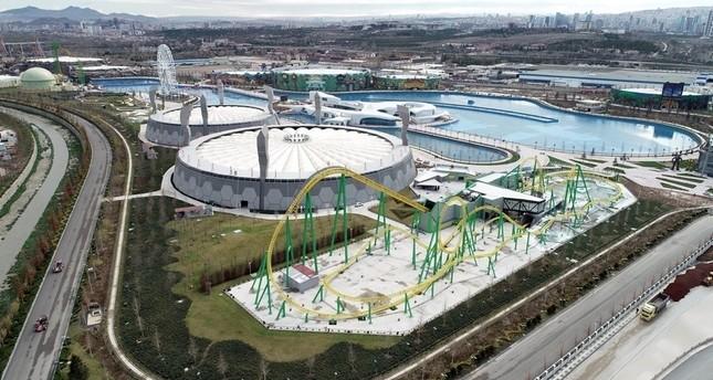 Крупнейший парк развлечений Европы открыли в Анкаре