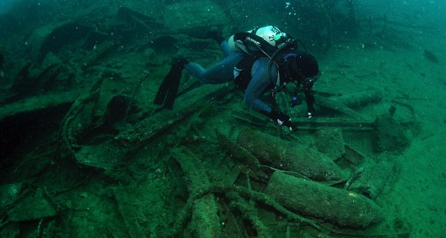 Divers will soon be able to explore submerged Gallipoli battleship