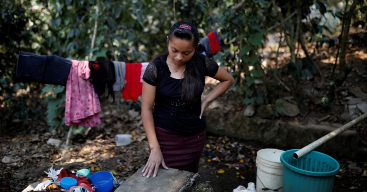 Lidia, sister of Juan de Leon Gutierrez, a 16-year-old Guatemalan migrant detained by U.S. Border Patrol agents and who died in a Texas hospital while in U.S. custody, in the village of Tizamarte, in Camotan, Guatemala May 3, 2019. (Reuters)