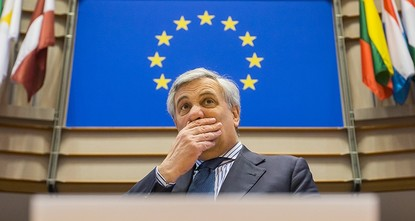 pFollowing a campaign to ban the distribution of Daily Sabah at the European Parliament (EP), President Antonio Tajani made a scandalous decision Wednesday to forbid the presence of the newspaper...