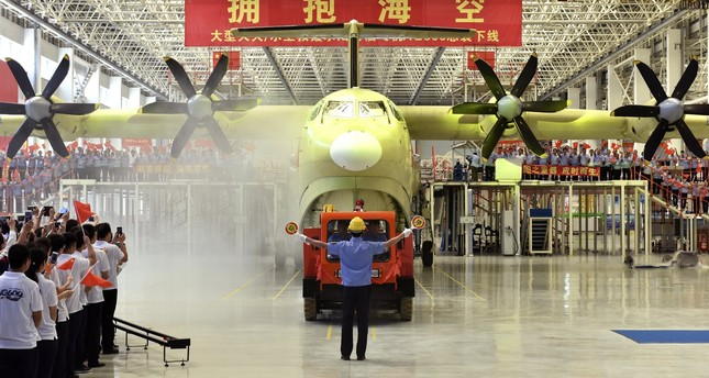 World's largest amphibious aircraft to fly in May
