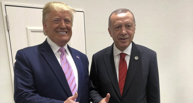 أردوغان وترامب يتفقان على مواصلة التعاون السياسي والعسكري