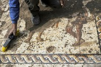 'Rare and beautiful' 1,800-year-old Roman-era mosaic excavated in Israel