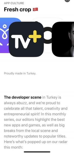 | Screengrab from app store