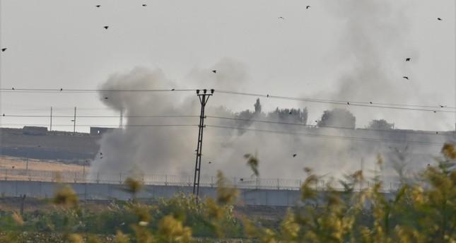 نبع السلام تبدأ بغارات وقصف على مواقع الإرهابيين في تل أبيض ورأس العين