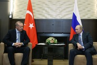 Erdoğan, Putin discuss Syria, trade in phone call