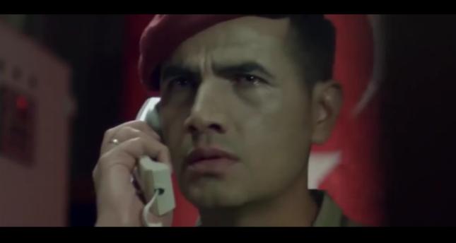 A still from the film picturing the hero, Ömer Halisdemir