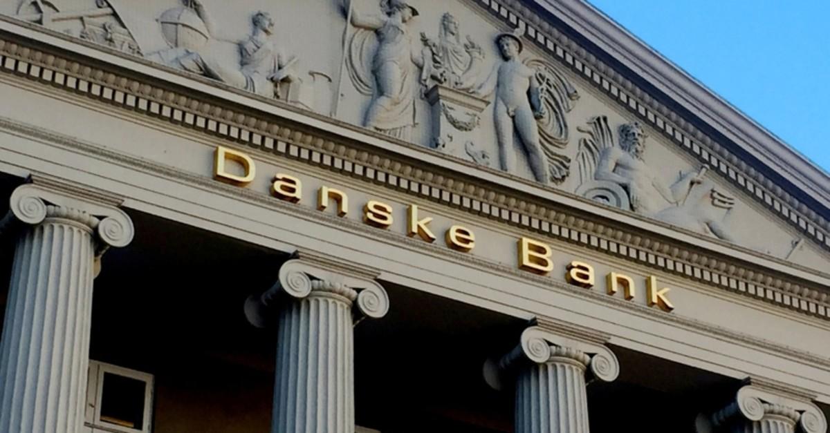 General view of the Danske Bank building in Copenhagen, Denmark, September 27, 2018. (Reuters Photo)