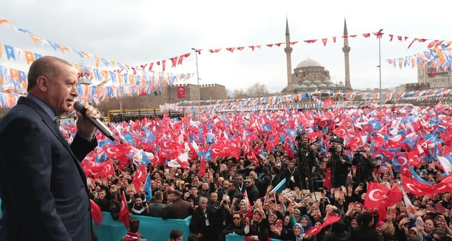 Erdoğan: CHP sides with those who want to divide Turkey