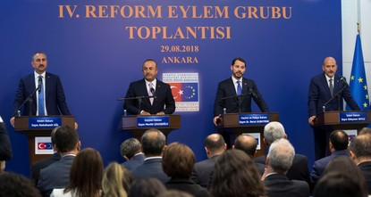 Turkey to prioritize EU reforms: Action Group