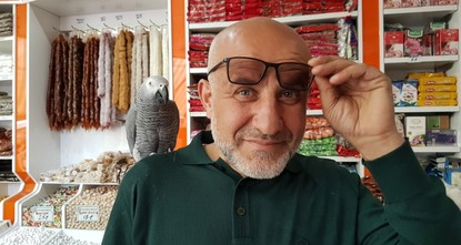pPasha, a pet grey African parrot, is all set to perform umrah - an Islamic pilgrimage - on his first trip to Mecca while perched on the shoulder of his middle-aged owner from central...