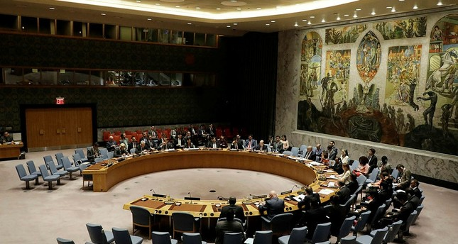 The United Nations Security Council hold a meeting on the situation with North Korea at United Nations headquarters in New York, New York, USA, 29 August 2017. (EPA Photo)