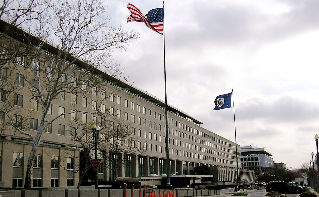 Harry S. Truman Building, in Washington, D.C., headquarters of the U.S. Department of State (Wikipedia photo)