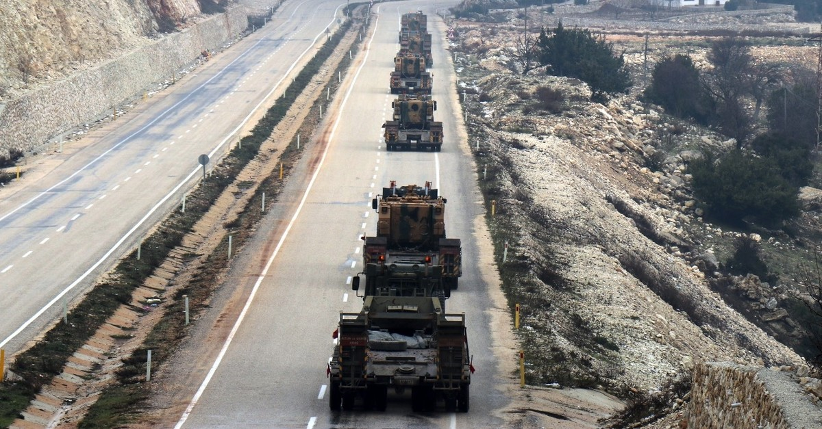 Since the announcement of a new operation east of the Euphrates, many Turkish military troops have been deployed near the Syrian border.