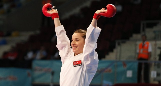 Turkish female karate star to fight for world title
