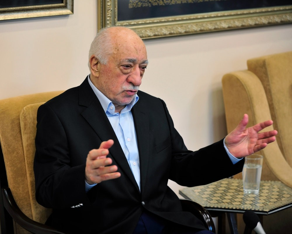 Fetullah Gu00fclen, at his residence in the United States. He is accused of masterminding the 2016 coup attempt.