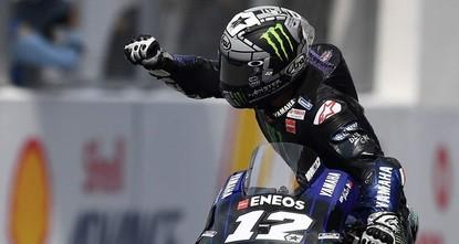 Vinales wins Malaysian MotoGP ahead of charging Marquez