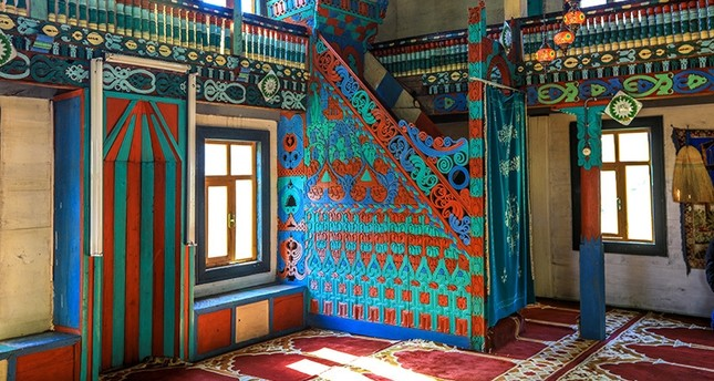 emThe 165-year-old İremit Mosque, Turkey's northern province of Artvin. (AA Photo)/em