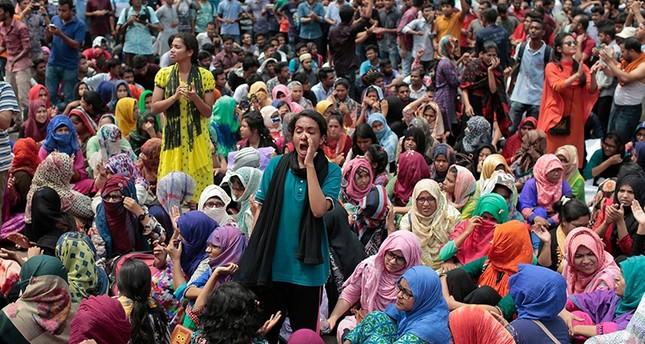 Bangladesh Anti Quota Protests 2013