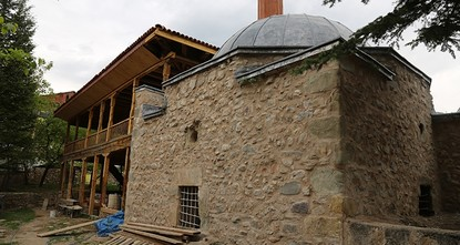 pThe Iskender Pasha Mosque dating back 466 years to the Ottoman era will be restored by the end of 2017 in Turkey's northeastern Artvin province./p