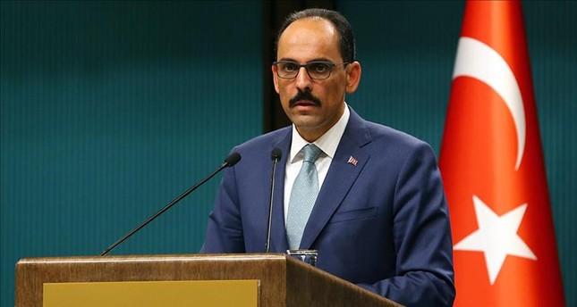 متحدث الرئاسة التركية إبراهيم قالن