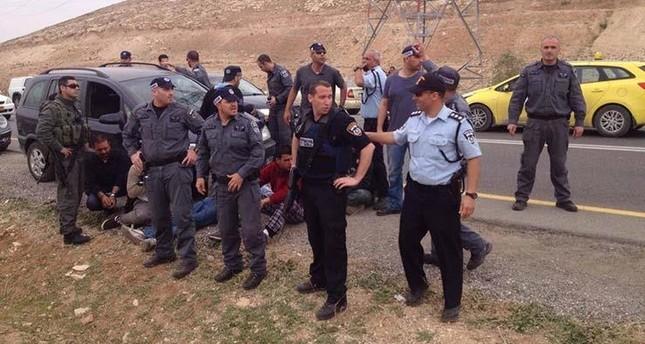 الشرطة الإسرائيلية تحتشد في الخان الأحمر لإجبار سكانه على الرحيل- صورة أرشيفية
