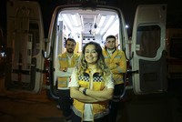 Istanbul's lone female ambulance driver comes to the rescue
